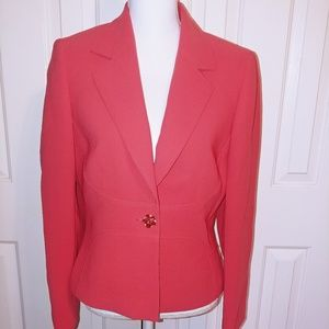 Tahari One Button Jacket/Blazer